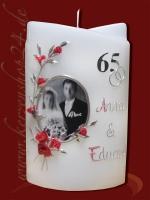 Eiserne Hochzeitskerze E-1212a