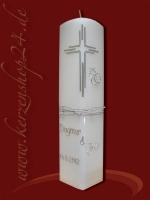 Silberne Hochzeitskerze E-1264