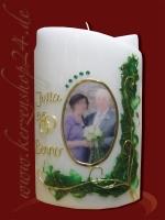 Juwelen Hochzeitskerze E-1373